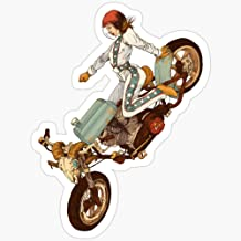 WillettaStore The Worst Bike- Women Who Ride Stickers (3 Pcs/Pack)