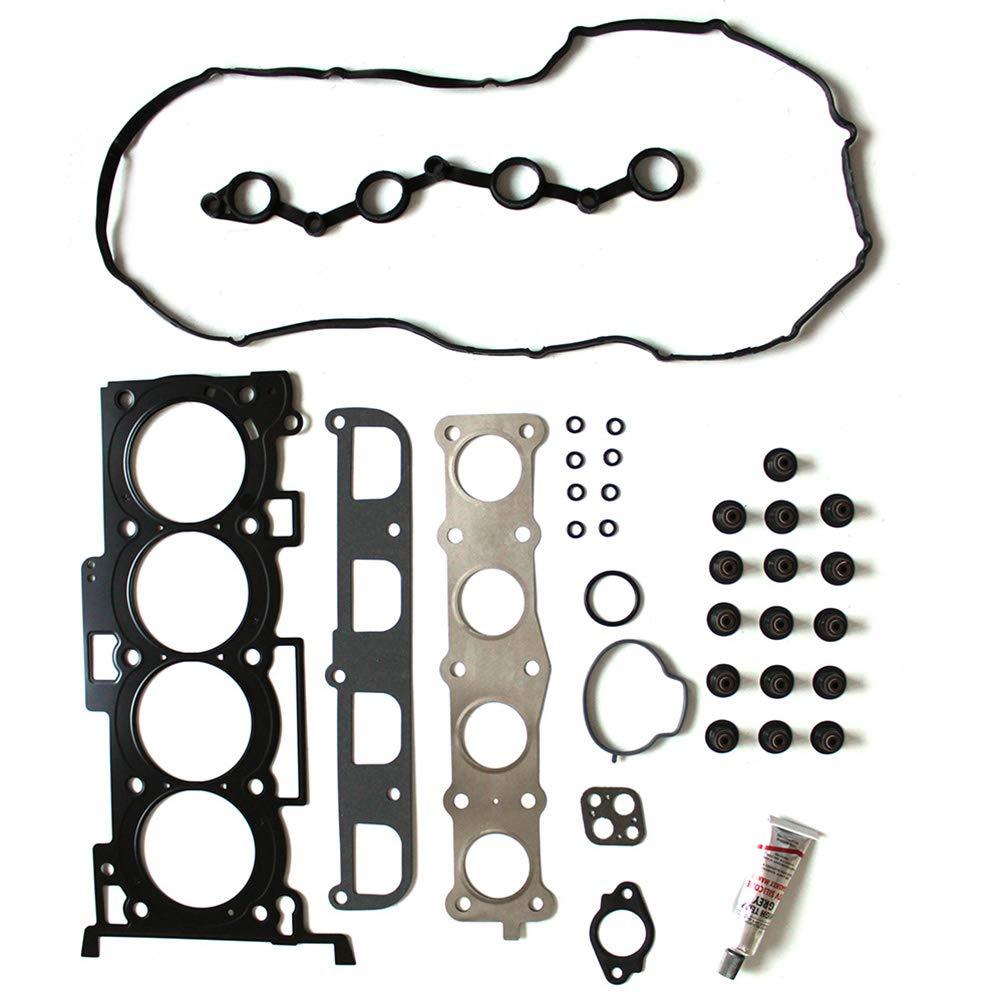 FINDAUTO Automotive Engine Head Gasket Studs Sets Kit fits for H-yundai Sonata Sedan