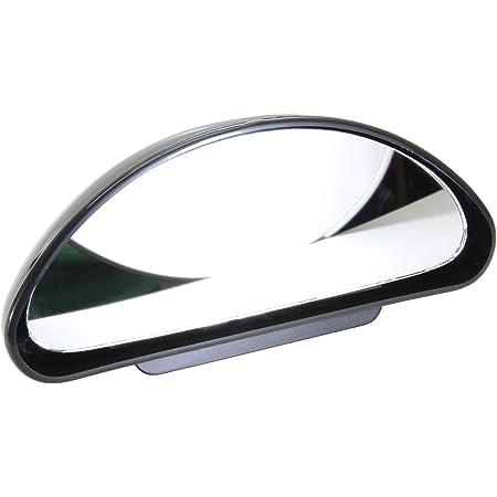 Universal Auto Toter Winkel Spiegel,MoreChoice Einstellbare Weitwinkel R/ückspiegel Wasserdichter konvexer Objektivspiegel Verstellbarer Auto R/ückspiegel f/ür Fahrzeuge PKW LKW SUV,Schwarz