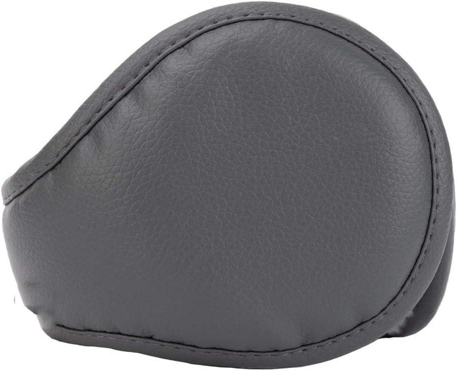 ZYXLN-Earmuffs,Earmuffs for Women Earmuffs for Men Warm Earmuffs Couple Earmuffs Foldable and Stretchable Winter Outdoor Earmuffs Behind The Head Earmuffs (Color : Gray)