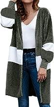Loosebee◕‿◕ Winter Warm Sweater,Fashion Women Long Sleeve Open Knitwear Patchwork Cardigans Printed Coats