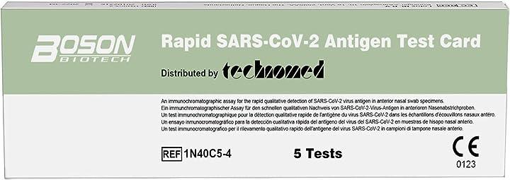 Test rapido covid 19 boson test rapido per l`antigene sars-cov-2 - scatola da 5 test B083DRQXGN