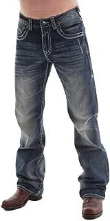 B. Tuff Western Denim Jeans Mens Torque Bootcut Rlx Dark Wash MTRQUE