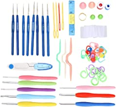 Mega Shop Crochet Hooks Sewing Tools Kits 16 Pcs / Set Yarn Hook Weave Craft Sewing Collection Needles Multi Coloured Knitting Needles Stitches