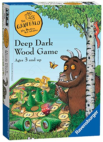 Ravensburger 22278 Gruffalo Deep Dark Wood Board Kids Age 3 years and Up-A Classic Dice Game
