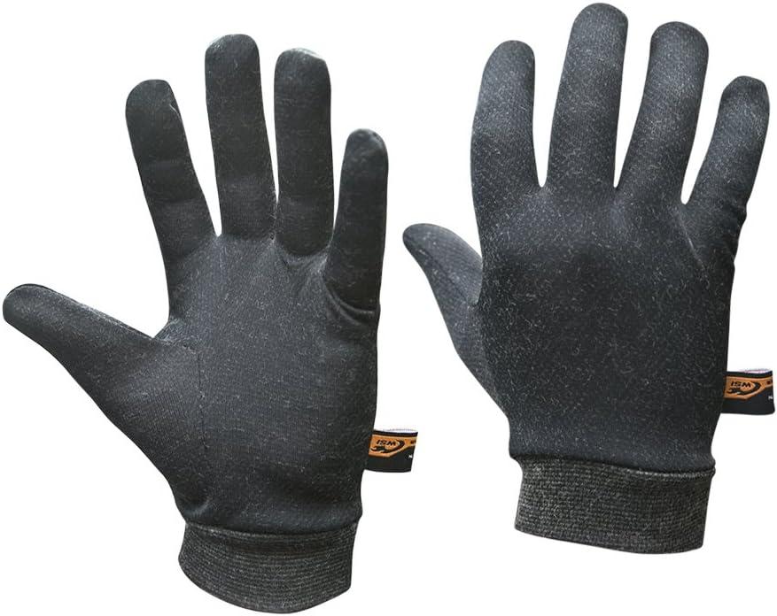 WSI Heatr Glove Liners, Black, Medium