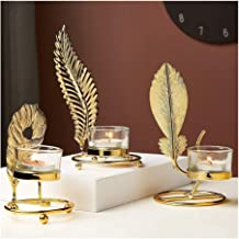 Candle Holders Imitation Copper Alloy Candle Holder Crystal Candle Holders (Color : Candle Holders C)