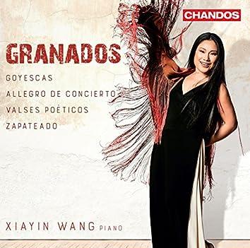 Granados: Goyescas, Allegro de concierto, Valses poéticos & Zapateado