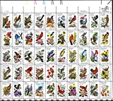US State Birds and Flowers Full Sheet of...