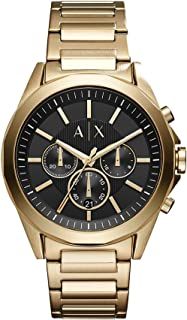 Armani Exchange A|X Men's Stainless Steel Band Watch