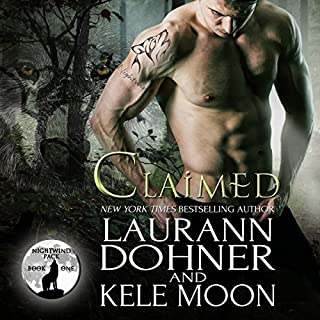 Claimed     Nightwind Pack, Book 1              By:                                                                                                                                 Kele Moon,                                                                                        Laurann Dohner                               Narrated by:                                                                                                                                 Jessee Foudray                      Length: 5 hrs and 52 mins     40 ratings     Overall 4.5