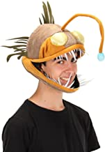 elope Festival Light Up Anglerfish Costume Hat for Kids and Adults