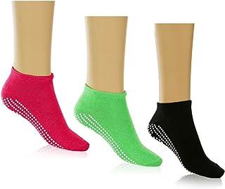 Multipack of Non slip yoga Socks For Women and Girls For, Pure Barre,