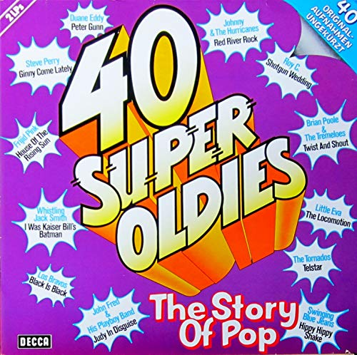 40 Super Oldies - The Story Of Pop [2xVinyl]