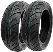 MMG SCOOTER TIRE SET: 120/70-12 + 130/70-12 Street Tread fits on CPI Aragon, Bingo, Tennesse, Formula, Freaky Scooters