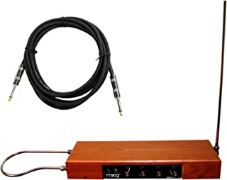 MOOG Etherwave Standard Theremin Pre-Assembled Ash Cabinet w/ Instrument Cable