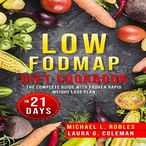 Low Fodmap Diet Cookbook audiobook cover art