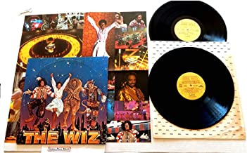 The Wiz Original Motion Picture Soundtrack - MCA Motown Records 1978 - 1 Used Double Vinyl LP Record Album - 1978 Pressing MCA2-14000 With 20 X 20 Inch Poster- Starring Diana Ross - Michael Jackson