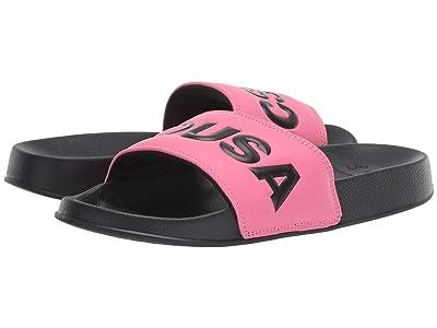 DC DC Slide SE (Pink/Black) Women