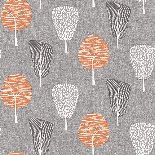 Arthouse 260008 Papier peint, Grey/Orange, 10