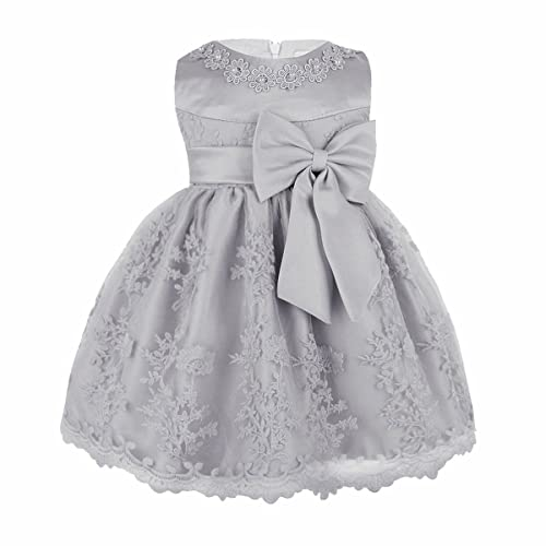 86f0aecdc iiniim Baby Girls Toddlers Princess Rose Flower Bow Dress Wedding  Bridesmaid Party Communion Dresses