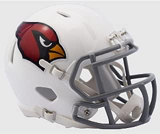 Arizona Cardinals NFL Mini Speed Football Helmet 2016 Color Rush Chrome Decal
