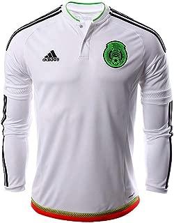 adidas Mexico Mens Away Long Sleeve Jersey