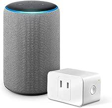 Echo (エコー) 第3世代 - スマートスピーカー with Alexa、ヘザーグレー + Meross WiFi スマートプラグ MSS110JP