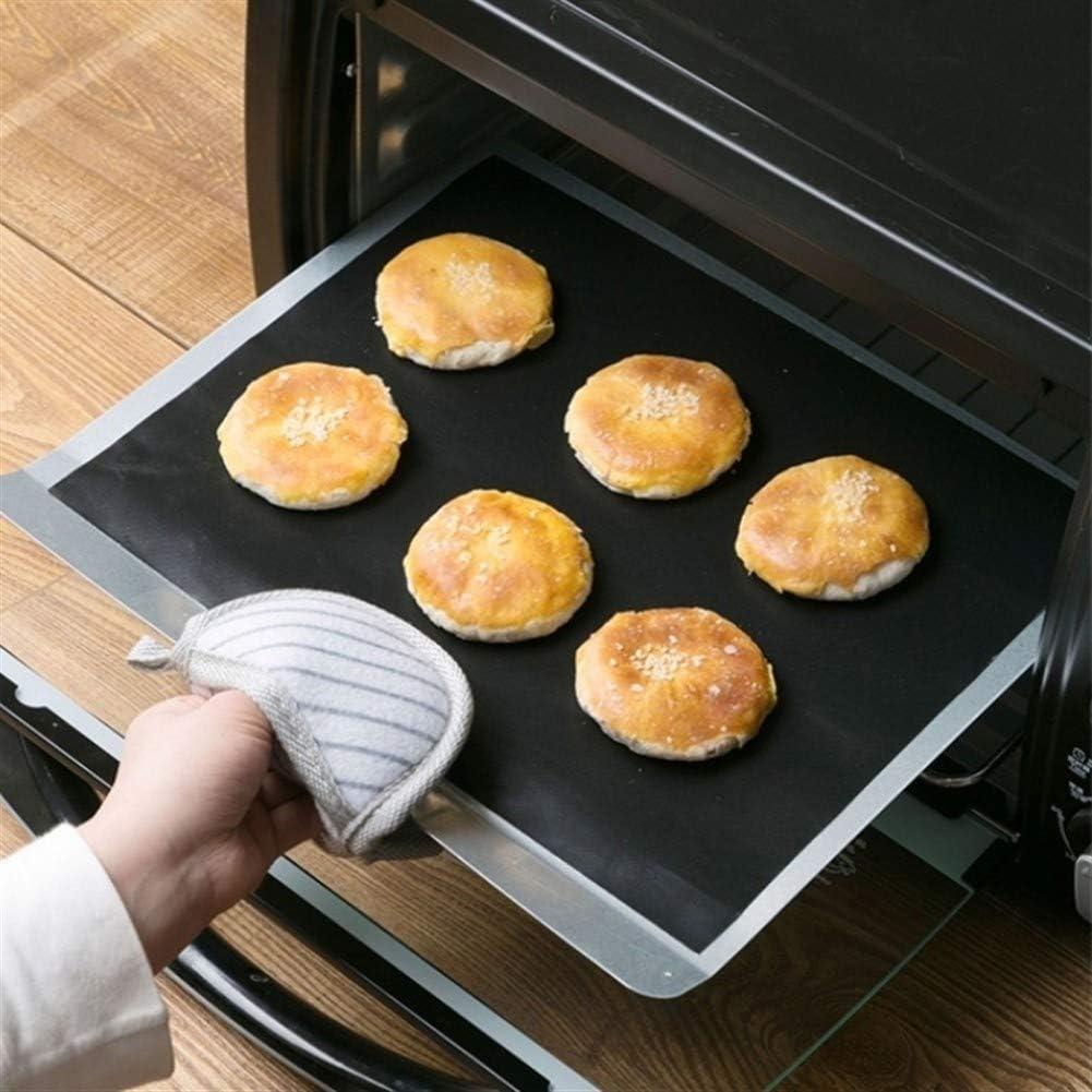 Yg-ct Barbecue Grill Mat Barbecue de cuisson antiadhésif Teflon Réutilisable de cuisson plaque 40 * 30cm for Party Grill Outils Mat Nouveau (Couleur : 1PC) 1pc