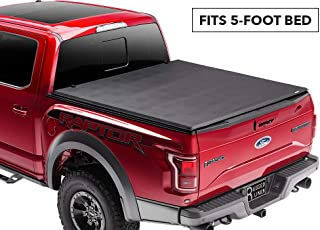 Rugged Liner Premium Soft Folding Truck Bed Tonneau Cover | FCT501 | fits 01-04 Toyota Tacoma Double Cab, 5' bed