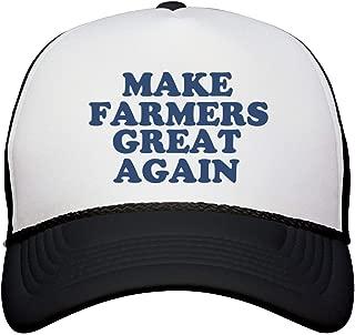 Make Farmers Great Again Hat: Snapback Trucker Hat