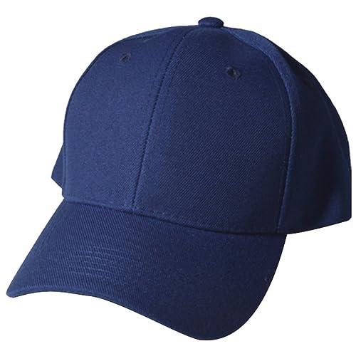 f48f48185dd Quality Merchandise Plain Baseball Blank Cap Solid Color Velcro Adjustable