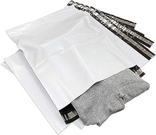 宅配ビニール袋 LLサイズ 380×480mm A3大 防水 配送や保管用などに 強力粘着テープ付き… (10枚セット)