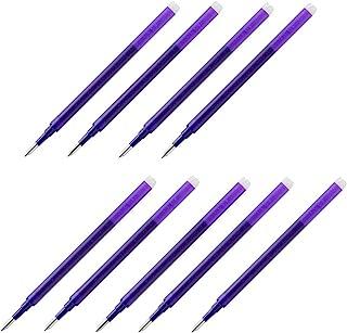 Pilot Gel Ink Refills for FriXion Erasable Gel Ink Pen, Extra Fine Point 0.5mm, Violet Ink, Pack of 9