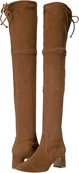 Coffee Suede Stretch