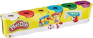 Hasbro Play-Doh C3898EU46-Pack Basic Colors,)