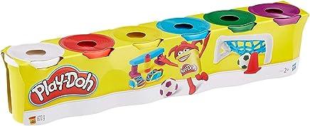 Hasbro Play-Doh C3898EU4 6er Pack Grundfarben, Knete