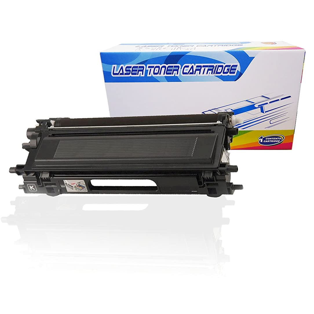 Inktoneram Compatible Toner Cartridge Replacement for Brother TN110 TN115 TN110BK DCP-9040CN DCP-9045CDN MFC-9440CN MFC-9450CDN MFC-9840CDW MFC-9870CDW HL-4040CDN HL-4040CN HL4050CDN HL4070CDN (Black)