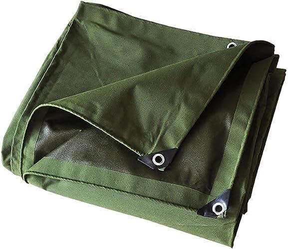 T-ShommeET Bache Anti-VieillisseHommest Imperméable à l'eau Antigels Imperméables Résistant à L'Air, 11 Tailles Vert Tentes Auvents 1.9 X 1.9 M
