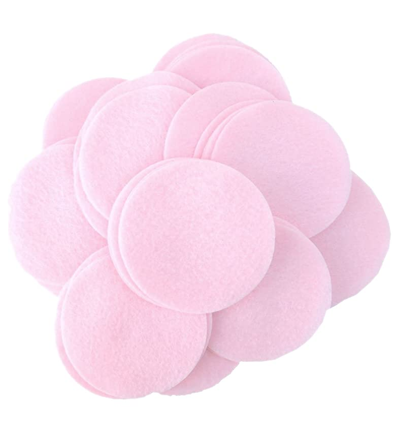 Playfully Ever After 2 Inch Light Pink 44pc Felt Circles