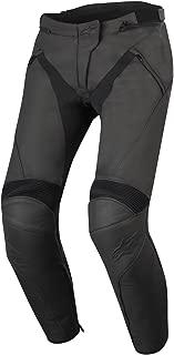 Alpinestars Women's Stella Jagg Leather Pants (46) (Black/Black)