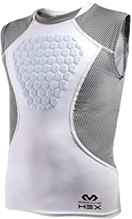 HEX Chest Protector, Heart-Guard / Sternum Protection – Padded Shirt for Baseball, Football, Lacrosse and Goalies - Youth & Adult Sizes
