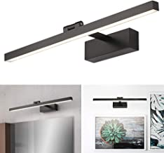 Modern Black Vanity Light Led Black Bathroom Wall Light 40cm/50cm/60cm/70cm/90cm/110cm Mirror Lighting Fixture Indoor Wall...