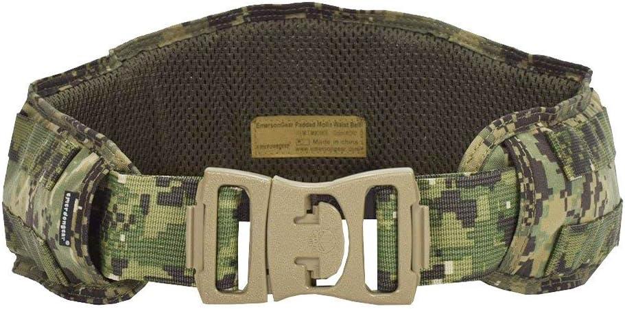 Tactical Molle Waist Belt Military Padded Patrol Molle Combat Battle Belt US