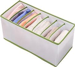 djim45aoy Garment Organizer Box PVC Anti-scratch Washable Clothes Storage Box Anti-wear Elastic Green