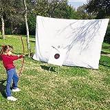 BSN Sports Archery Net 10'H X 16'W, White