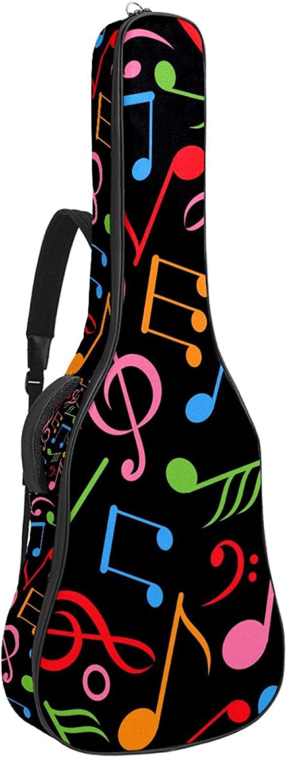 New color Electric Guitar Max 84% OFF Bag Padded Gig Acoustic Adjustable Sh