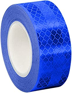 3M 3435 Blue Micro Prismatic Sheeting Reflective Tape, 2