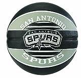 Spalding NBA Team SA Spurs 83-512Z Balón de Baloncesto, Multicolor, 7