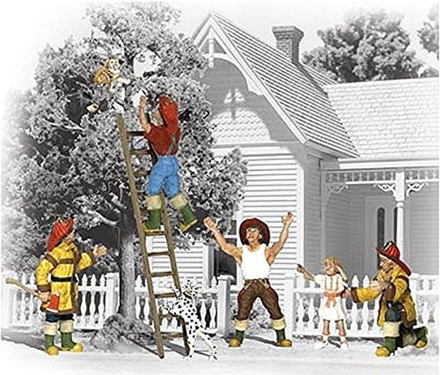 gran descuento Woodland Scenics N N N Firemen to the Rescue WOOA2151 by Woodland Scenics  nuevo sádico